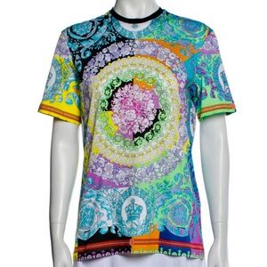 Versace Limited Edition Paisley Printed Top Size S